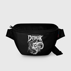 Поясная сумка Dethklok: Goat Skull цвета 3D — фото 1