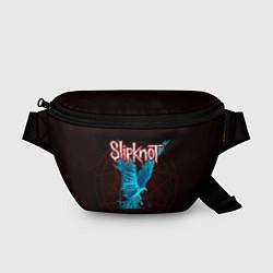 Поясная сумка Орел группа Slipknot цвета 3D-принт — фото 1
