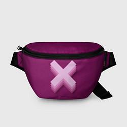 Поясная сумка The XX: Purple цвета 3D — фото 1
