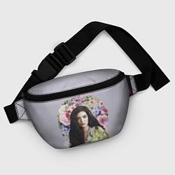 Поясная сумка Lorde Floral цвета 3D-принт — фото 2