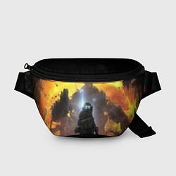 Поясная сумка Titanfall: Robots War цвета 3D — фото 1
