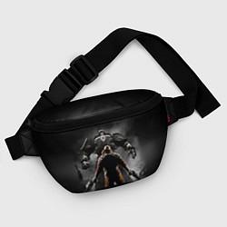 Поясная сумка Wolfenstein Battle цвета 3D-принт — фото 2