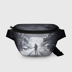 Поясная сумка Metro Exodus цвета 3D-принт — фото 1
