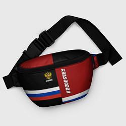 Поясная сумка Krasnodar, Russia цвета 3D-принт — фото 2