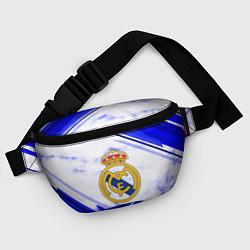 Поясная сумка Real Madrid цвета 3D-принт — фото 2