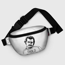 Поясная сумка Pablo Escobar цвета 3D-принт — фото 2