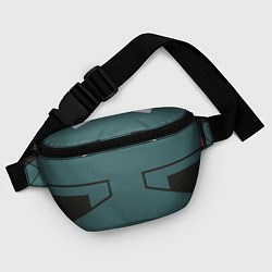 Поясная сумка MHA IZUKU MIDORIYA цвета 3D-принт — фото 2