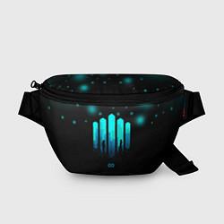 Поясная сумка The 100: City цвета 3D-принт — фото 1