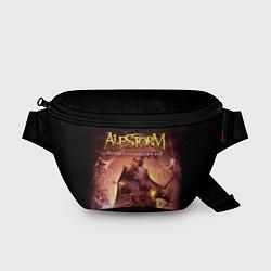 Поясная сумка Alestorm: Golden Ship цвета 3D — фото 1