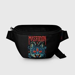 Поясная сумка Mastodon: Demonic Cat цвета 3D — фото 1