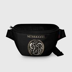 Поясная сумка Meshuggah цвета 3D-принт — фото 1