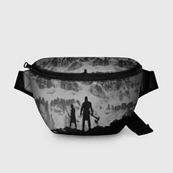 Поясная сумка God of War: Grey Day цвета 3D-принт — фото 1