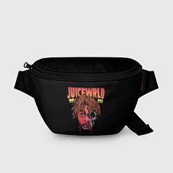 Поясная сумка Juice WRLD цвета 3D-принт — фото 1
