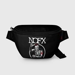 Поясная сумка NOFX цвета 3D-принт — фото 1