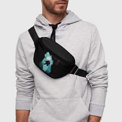 Поясная сумка Princess Mononoke цвета 3D-принт — фото 2