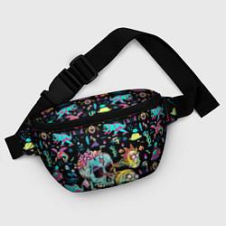 Поясная сумка Monsters Rick and Morty цвета 3D — фото 2