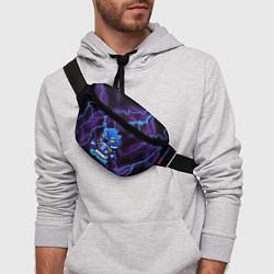 Поясная сумка Brawl Stars LEON цвета 3D — фото 2