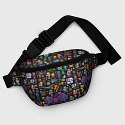 Поясная сумка MINECRAFT цвета 3D — фото 2