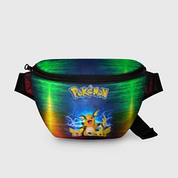 Поясная сумка Pikachu цвета 3D-принт — фото 1