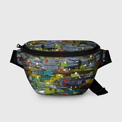 Поясная сумка Геранд шоп-Мир танков цвета 3D-принт — фото 1