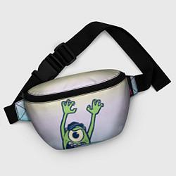 Поясная сумка Майк Вазовски цвета 3D-принт — фото 2
