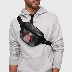 Поясная сумка Какаши Хатаке цвета 3D-принт — фото 2