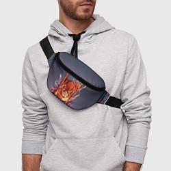 Поясная сумка The Flash цвета 3D-принт — фото 2