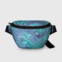 Поясная сумка Смесь красок цвета 3D — фото 1