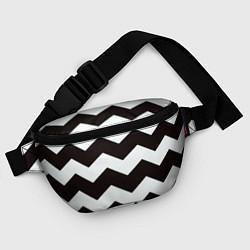 Поясная сумка Полосы цвета 3D — фото 2