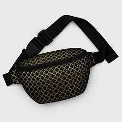 Поясная сумка Узор цвета 3D — фото 2