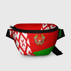 Поясная сумка Патриот Беларуси цвета 3D-принт — фото 1