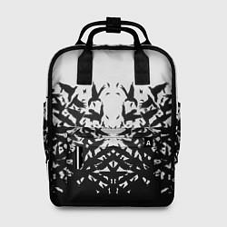 Рюкзак женский Птичий вихрь цвета 3D — фото 1