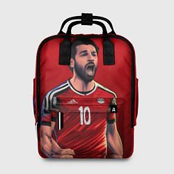 Рюкзак женский Мохамед Салах цвета 3D-принт — фото 1