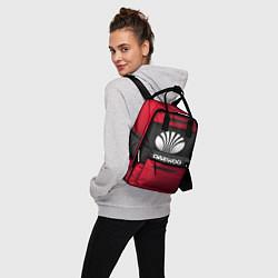 Рюкзак женский Daewoo Sport цвета 3D-принт — фото 2