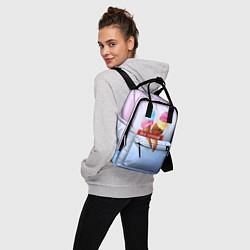 Рюкзак женский Ice Creme цвета 3D-принт — фото 2