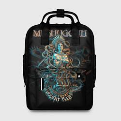 Рюкзак женский Meshuggah: Violent Sleep цвета 3D-принт — фото 1