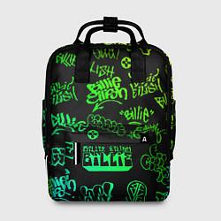 Рюкзак женский BILLIE EILISH: Grunge Graffiti цвета 3D — фото 1