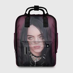 Женский городской рюкзак с принтом BILLIE EILISH, цвет: 3D, артикул: 10201690905839 — фото 1