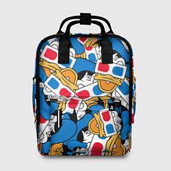 Рюкзак женский Дональд Дак 3D цвета 3D — фото 1