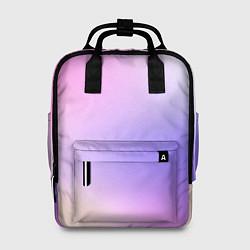 Рюкзак женский Светлый градиент розовый мода цвета 3D-принт — фото 1
