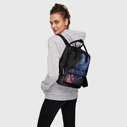 Рюкзак женский Лиса и ее дух цвета 3D — фото 2