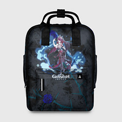 Рюкзак женский Genshin Impact - Rosaria цвета 3D-принт — фото 1