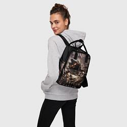 Рюкзак женский Disturbed цвета 3D — фото 2