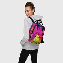 Рюкзак женский Абстракция цвета цвета 3D — фото 2