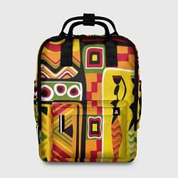 Рюкзак женский Африка цвета 3D — фото 1