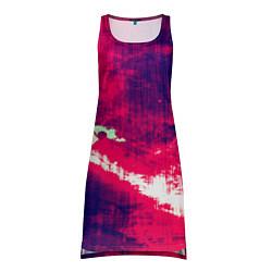 Туника женская Брызги красок цвета 3D — фото 1
