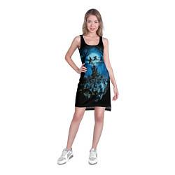 Туника женская Zombie Island цвета 3D — фото 2