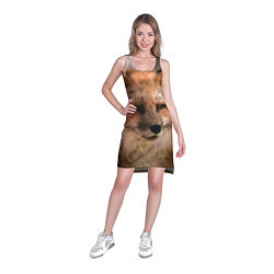 Туника женская Строгая лисица цвета 3D — фото 2