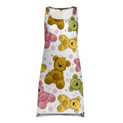 Туника женская Любимые медвежата цвета 3D — фото 1