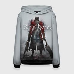Толстовка-худи женская Bloodborne: Hell Knight цвета 3D-черный — фото 1